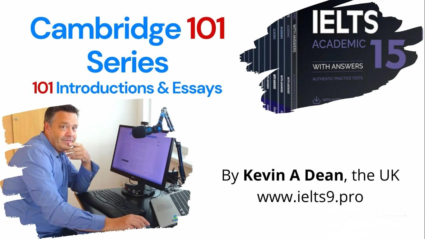 ویدئوی 101- از سوالات رایتینگ تسک دو کتاب های کمبریج 1 تا 15